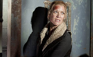 Laurie Holden on Andrea's Final Moments; Steven Yeun, Michael Rooker Invade <em>Conan</em>