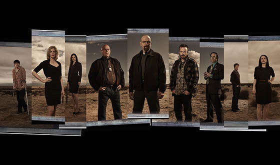 <em>Breaking Bad</em> Final Episodes Cast Portraits Now Online