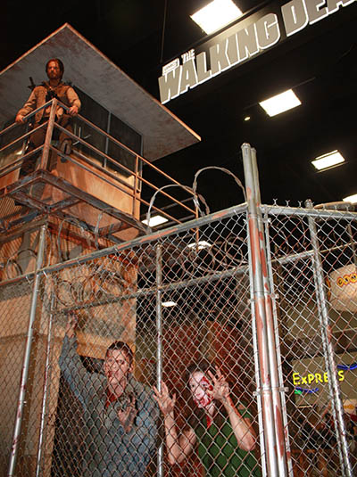 The Walking Dead Comic-Con Booth 2013