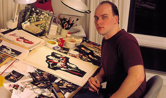 Q&A – Alex Ross (Comic-Con Poster Artist)