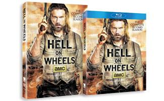 <em>Hell on Wheels</em> Season 2 DVD/Blu-ray Sets Now on Sale