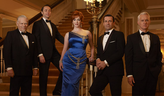 <em>Mad Men</em> Earns 12 Emmy Nominations, Including Best Drama, Actor & Actress
