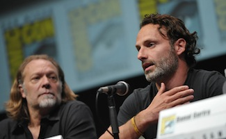 Andrew Lincoln Looks Ahead to Season 4; <em>The Walking Dead</em> Panel Thrills at Comic-Con