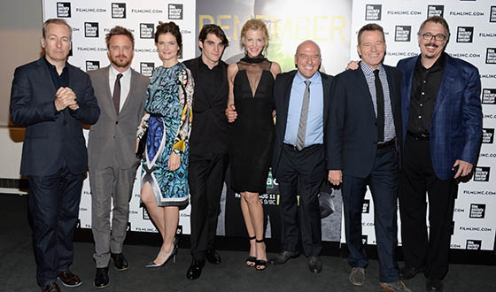 Photos &#8211; <em>Breaking Bad</em> Cast &#038; Creator at New York Premiere Party