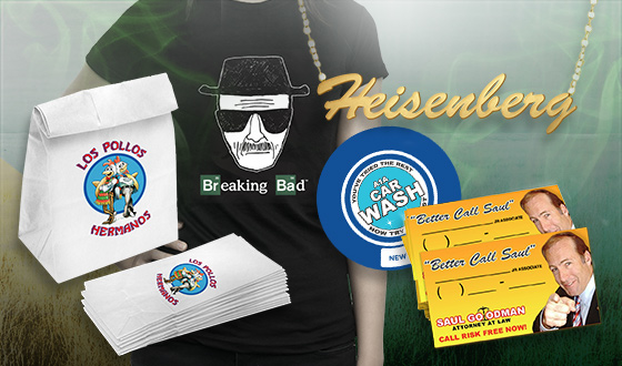The Official <em>Breaking Bad</em> Store Has DVDs & Exclusive T-Shirts, Jewelry, Fatheads and More