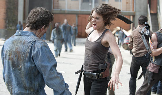 Andrew Lincoln on Rick's Season 4 State of Mind; <em>Maxim</em> Features Lauren Cohan