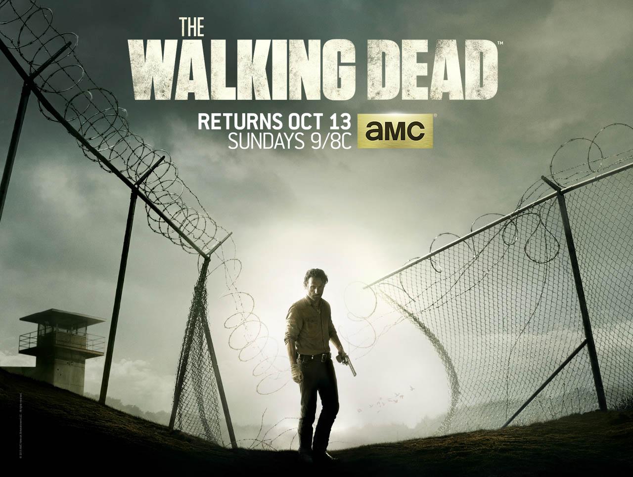 blogs the walking dead the walking dead season 4 poster revealed amc. Black Bedroom Furniture Sets. Home Design Ideas