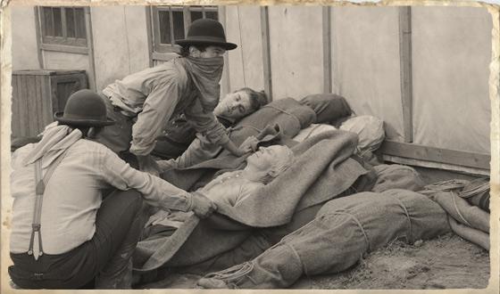 Louise Ellison Column – Cholera Strikes Hell on Wheels