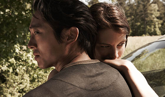 Steven Yeun, Lauren Cohan Talk Glenn &amp; Maggie With <em>EW</em>; <em>Variety</em> Likes Season 4's First Two Episodes