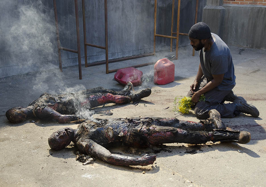 Tyreese (Chad L. Coleman) in Episode 2 of The Walking Dead