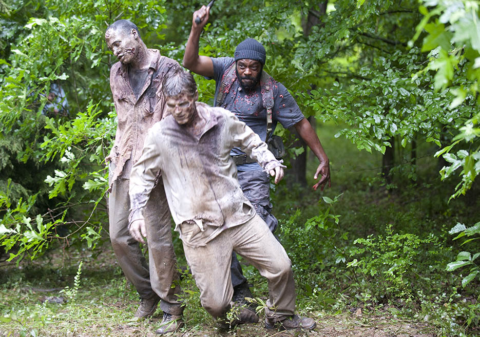Tyreese (Chad L. Coleman) in Episode 3 of The Walking Dead