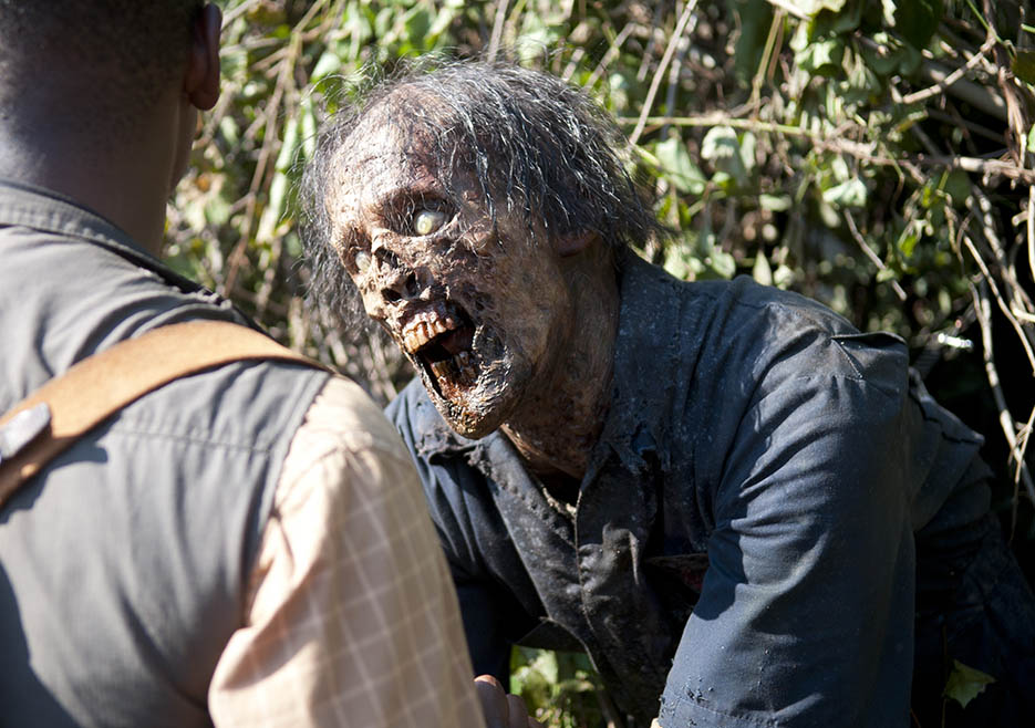 Walker in Episode 4 of The Walking Dead