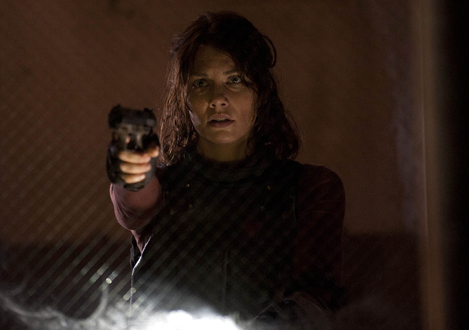Maggie Greene (Lauren Cohan) in Episode 5 of The Walking Dead
