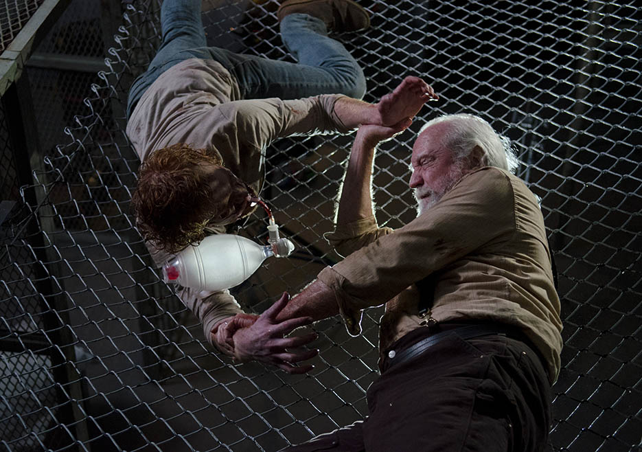 Hershel Greene (Scott Wilson) in Episode 5 of The Walking Dead
