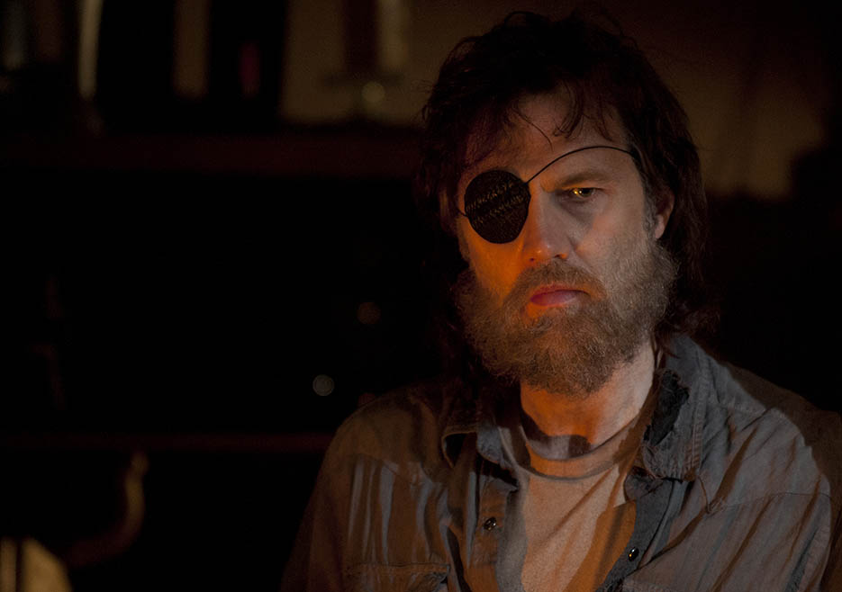 The Governor (David Morrissey) in Episode 6 of The Walking Dead