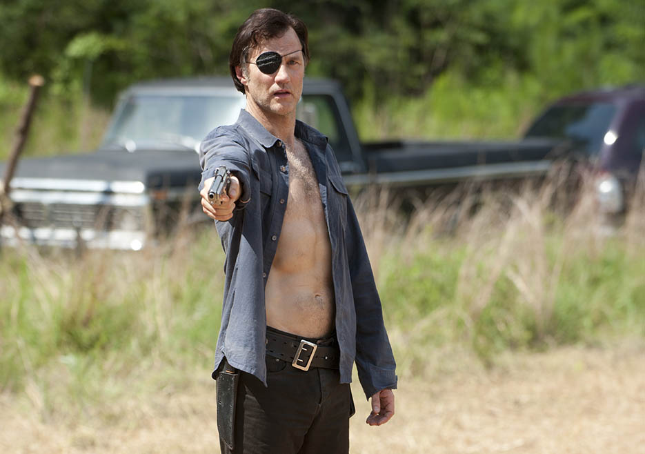 The Governor (David Morrissey) in Episode 7 of The Walking Dead