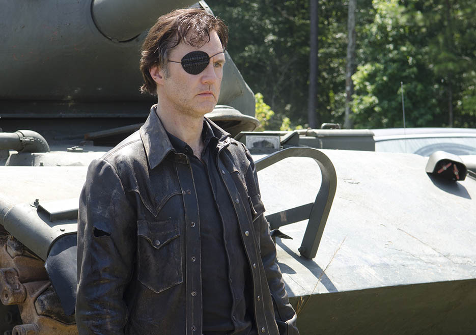 The Governor (David Morrissey) in Episode 8 of The Walking Dead
