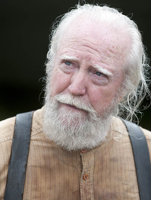 Hershel Greene (Scott Wilson) in Episode 8 of The Walking Dead