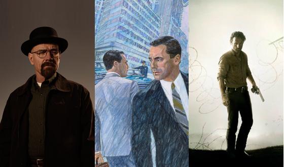 AMC Nabs Nine Satellite Award Nominations for <em>Mad Men</em>, <em>Breaking Bad</em>, and <em>The Walking Dead</em>