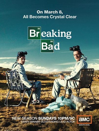breaking bad breaking bad posters amc. Black Bedroom Furniture Sets. Home Design Ideas