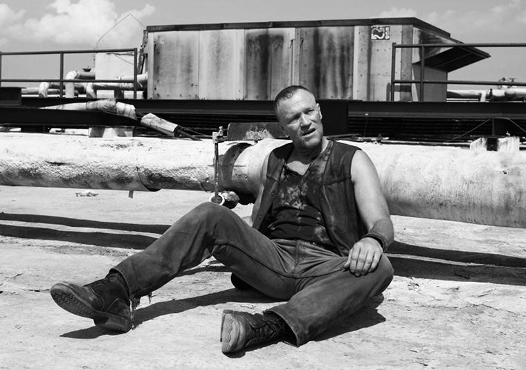 Merle Dixon (Michael Rooker) in Episode 2 of The Walking Dead