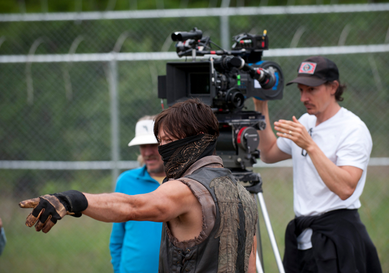 Norman Reedus (Daryl Dixon) in Episode 2 of The Walking Dead