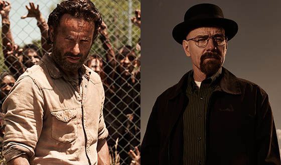 <em>The Walking Dead</em> and <em>Breaking Bad</em> Win Three People&#8217;s Choice Awards
