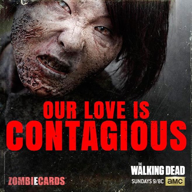 The Walking Dead Valentine