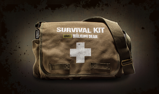 Official <em>The Walking Dead</em> Survival Kit Now Available for Pre-Order