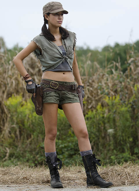 Rosita Espinosa (Christian Serratos) in Episode 11 of The Walking Dead