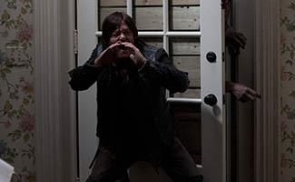 Daryl Dixon (Norman Reedus) and Walker - The Walking Dead
