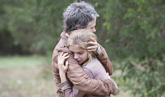 "Melissa McBride Talks Carol's Harrowing Episode; Scott Gimple, Robert Kirkman Deconstruct ""The Grove"""