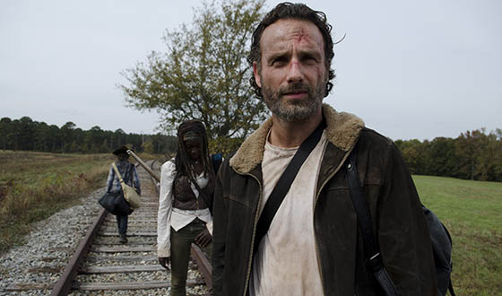 Robert Kirkman, Greg Nicotero Preview Season 4 Finale; Danai Gurira On Michonne, Rick & Carl