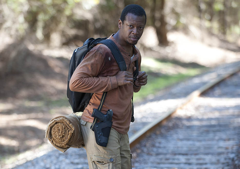 Bob Stookey (Lawrence Gilliard Jr.) in Episode 13 of The Walking Dead