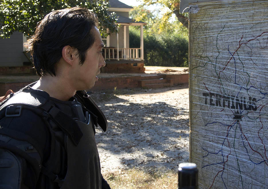 Glenn Rhee (Steven Yeun) in Episode 13 of The Walking Dead
