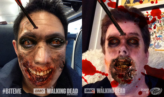 Photos – <em>Comic Book Men</em>'s Ming Chen and Michael Zapcic Zombified