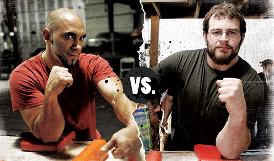 <em>Game of Arms</em> Poll – Who Should Win in a Battle Between Mike Selearis and Nick Zinna?