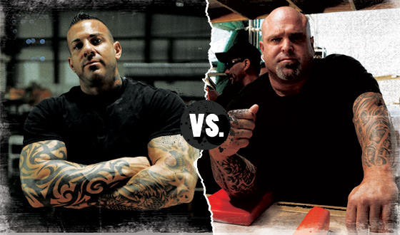 <em>Game of Arms</em> Poll – Who Should Win in a Battle Between Mike Ayello and Don Underwood?