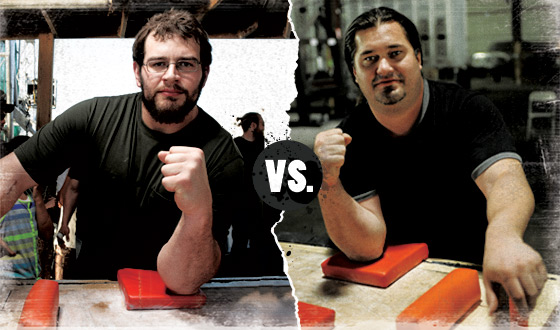<em>Game of Arms</em> Poll – Who Should Win in a Battle Between Nick Zinna and Kenny Hughes?