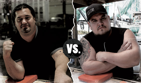 <em>Game of Arms</em> Poll – Who Should Win in a Battle Between Kenny Hughes and Chop Bertrand?
