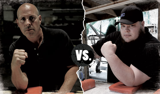 <em>Game of Arms</em> Poll &#8211; Who Should Win in a Battle Between Mike McGraw and Turbo Borrow?