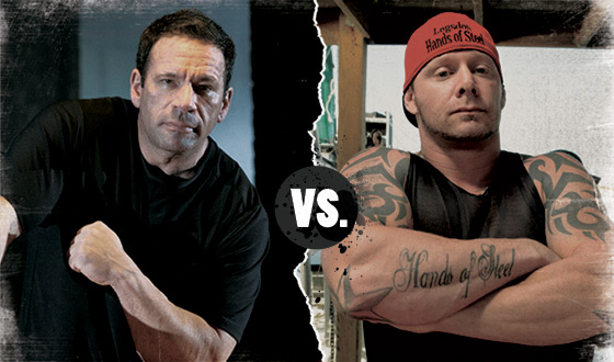 <em>Game of Arms</em> Poll – Who Should Win in a Battle Between James Wagner and Bill Logsdon?
