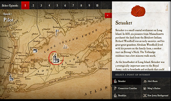 Explore the <em>TURN</em> Interactive Map to Learn About Locations and Events Seen on the Series