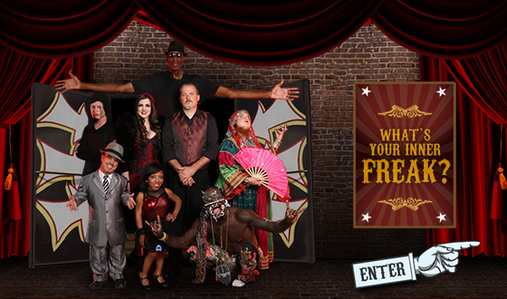 Are You a Fire Eater? Shock Artist? Find Your Inner Freak With <em>Freakshow'</em>s Personality Game