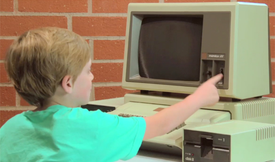 Video – Kids React to the Computers of the <em>Halt and Catch Fire</em> Era