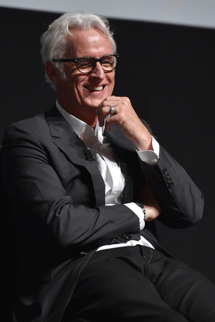 John Slattery (Roger Sterling) from Mad Men