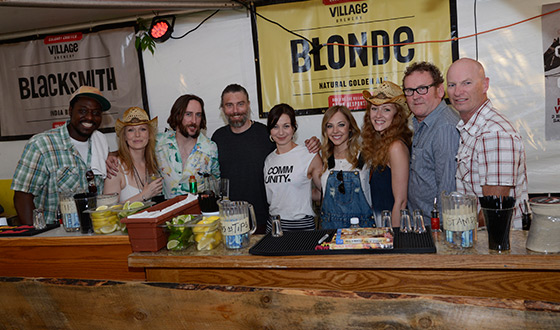 Photos – <em>Hell on Wheels</em> Cast Bartends for Charity Event and Attends Calgary Stampede