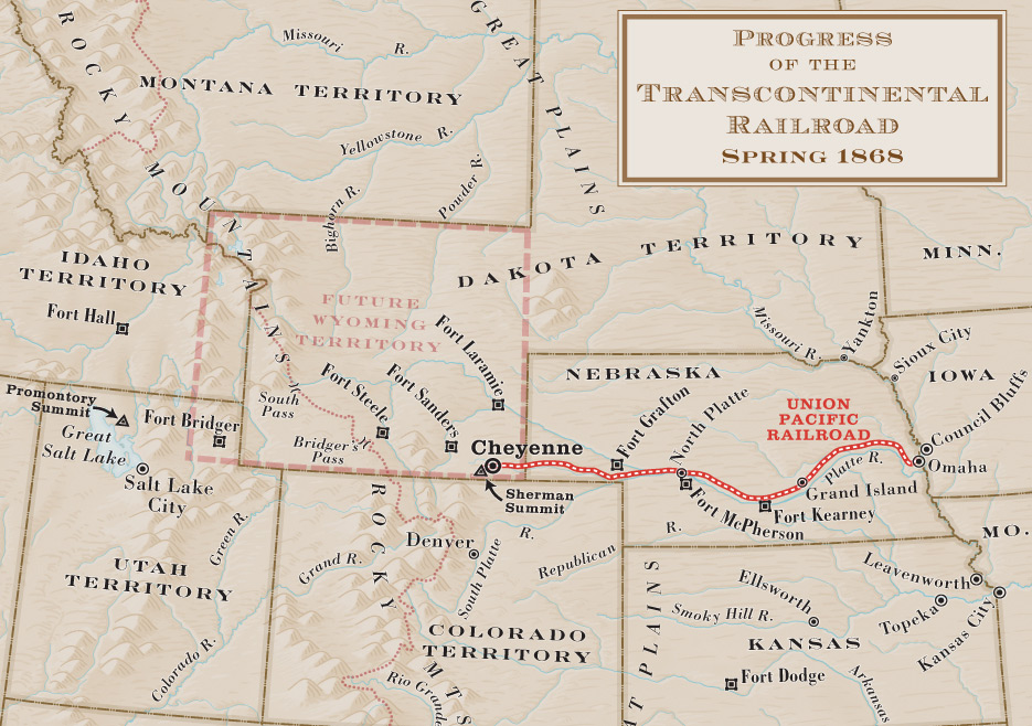 transcontinental railroad timeline essay The first transcontinental railroad was completed when the rails of the union pacific, reaching westward from omaha, nebraska, and those of the central pacific railroad, reaching eastward from sacramento, california were joined, completing the coast-to-coast connection.