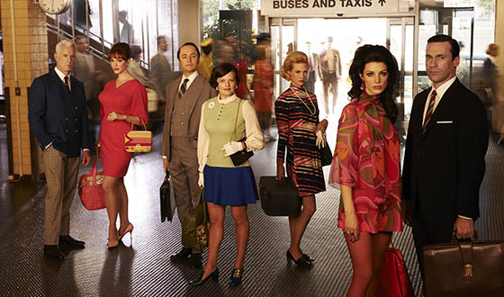 <em>Mad Men</em> Receives 8 Emmy Nominations Including Best Drama, Actor and Supporting Actress