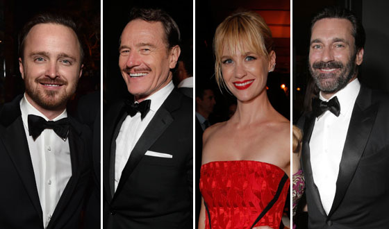 Photos – <em>Mad Men</em> and <em>Breaking Bad</em> Casts at the AMC/IFC Emmy Awards After Party